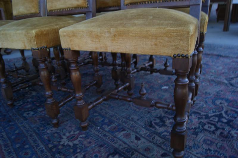 Set sei sedie rinascimento ottime per laccatura cod 9089 for Vetrinette shabby ebay